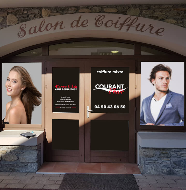 Courant d'hair | Salon de coiffure