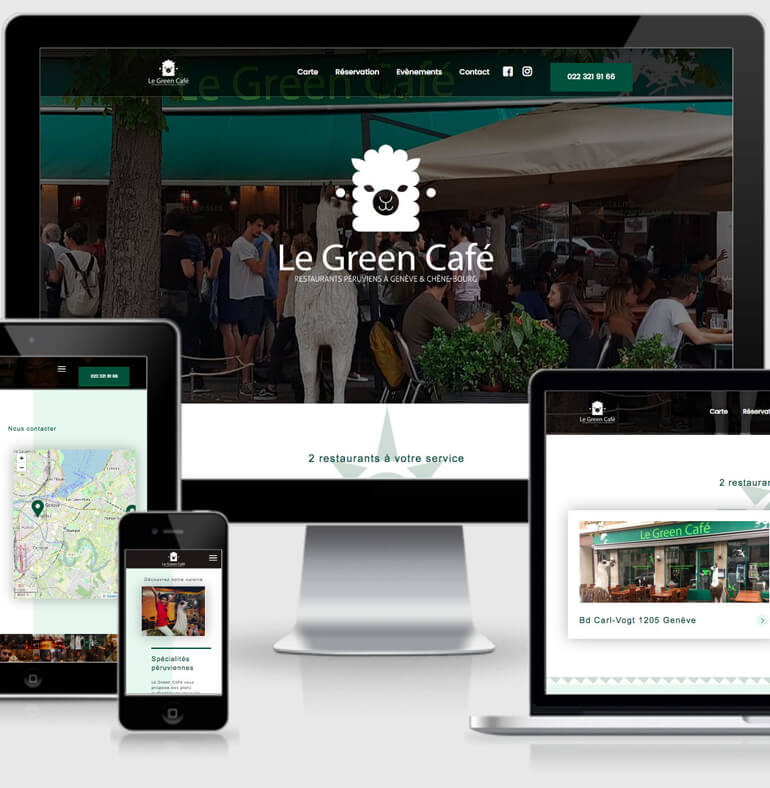 Le Green Café - restaurant