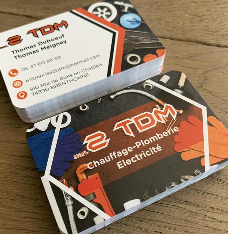 2 TDM | Plomberie-Chauffage et électricité