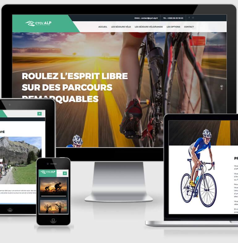Cycl'Alp - La pratique du vélo de route sur les cols des Alpes