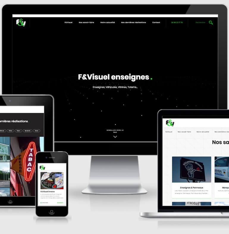 F&Visuel | Enseignes