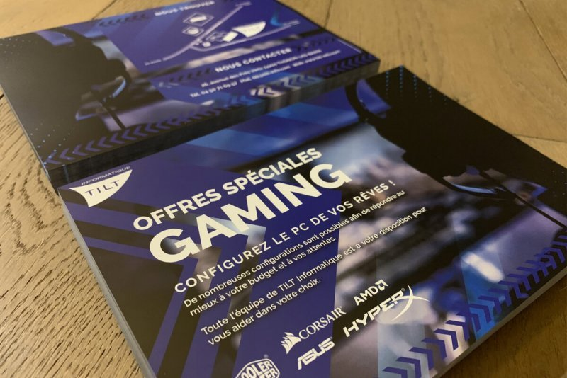 Flyer gaming